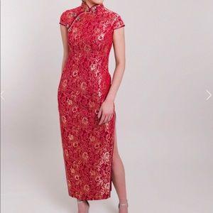 Chinese Qipao/ cheongsam wedding dress